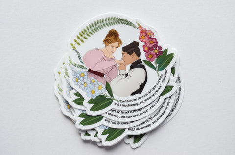 Don't Hurt Me, I'm Not As Strong As You Think I Am, Anne Lister: Gentleman Jack Sticker