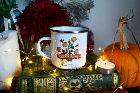 Queer Magic: Enamel Mug