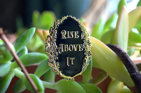 Rise Above It, Anne Lister/Gentleman Jack: Enamel Pin