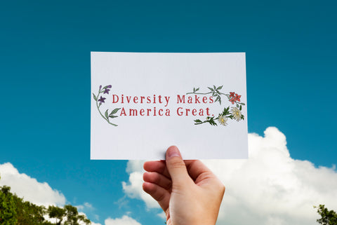 Diversity Makes America Great: Print