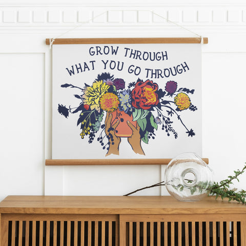 Grow Through What You Go Through: Large Print