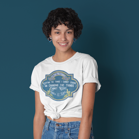 I Am No Longer Accepting The Things I Cannot Change. I Am Changing The Things I Cannot Accept, Angela Davis: Unisex Adult Shirt