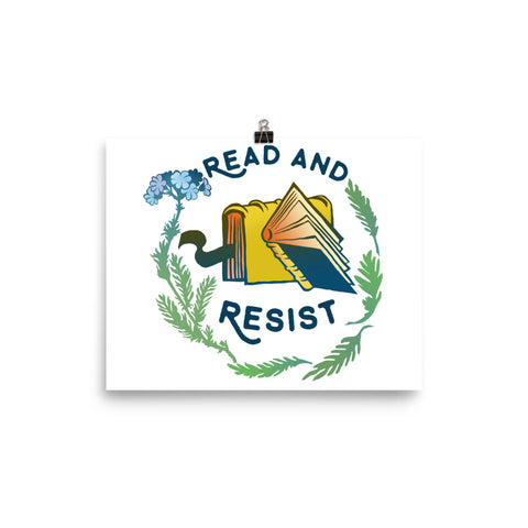 Read and Resist: Bibliophile Print