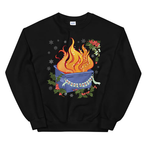 Merry and Bright: Unisex Holiday Sweatshirt
