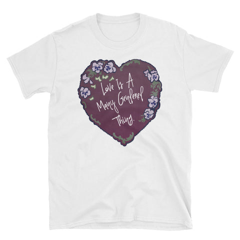 Love Is A Many Gendered Thing: Unisex Adult Shirt