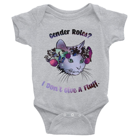 Gender Roles? I Don't Give A Fluff: Baby Bodysuit