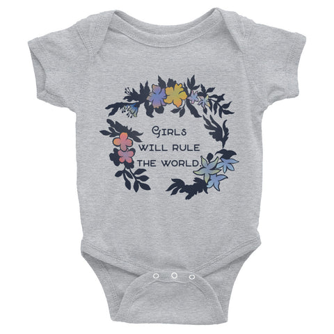 Girls Will Rule The World: Baby Bodysuit