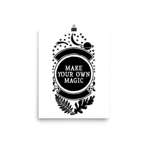 Make Your Own Magic: Self Care Print