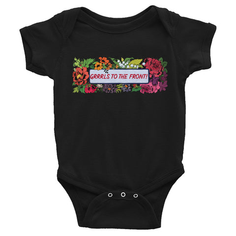Grrrls To The Front: Baby Bodysuit
