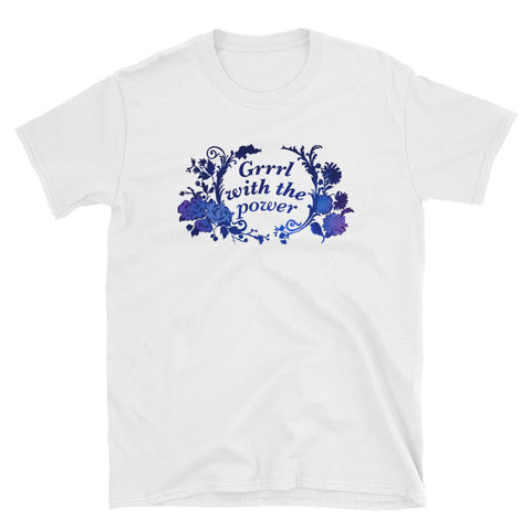 Grrrl With The Power: Unisex Adult Shirt