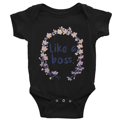 Like A Boss: Baby Bodysuit
