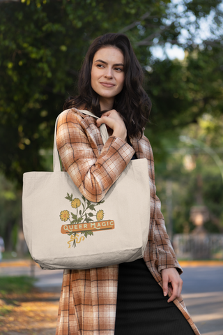 Queer Magic: Large organic tote bag
