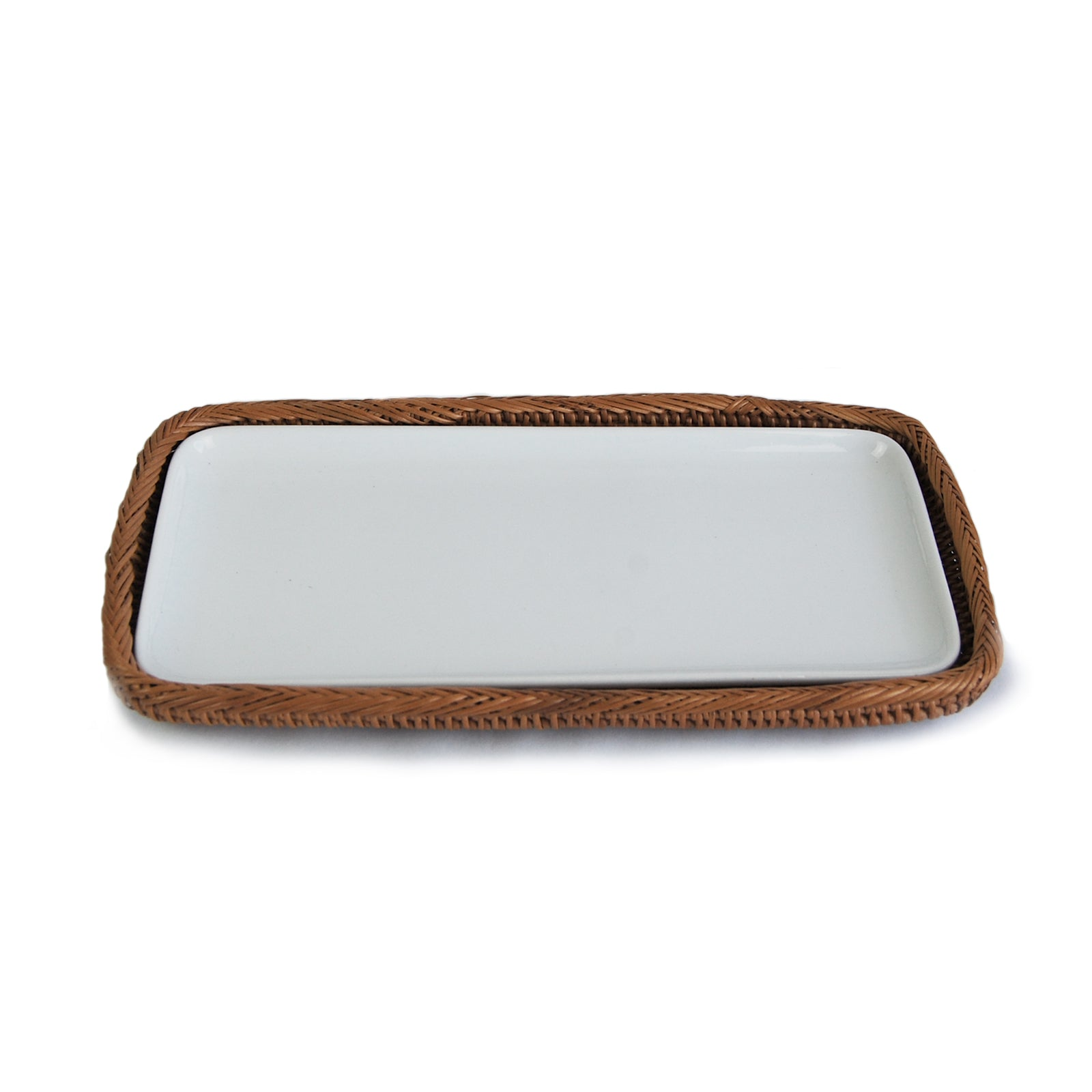 Bali Amenity Tray w/ Porcelain Liner