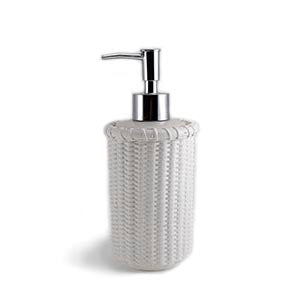 Nantucket Soap Dispenser, white
