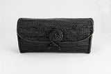 Peggy Fisher Clutch, BLK