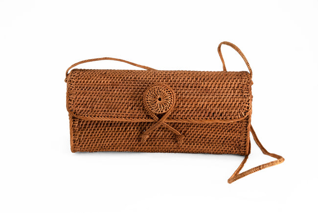 Peggy Fisher Clutch With Strap