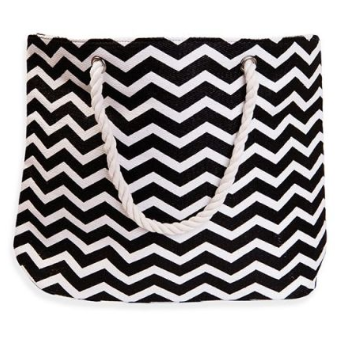 Chevron Carry-All Beach Tote Bag - 3 Colors!