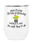 Social Distancing Travel Drinkware