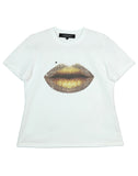 GOLD LIP T-SHIRT