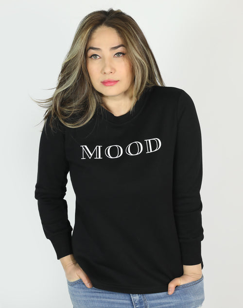 BLACK MOOD SWEATSHIRT