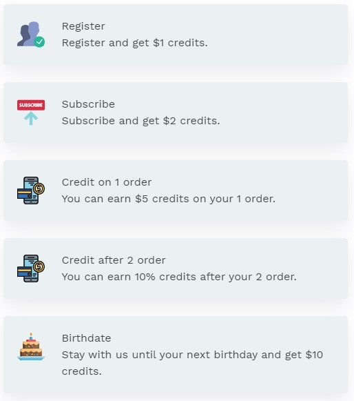 how to earn store credit