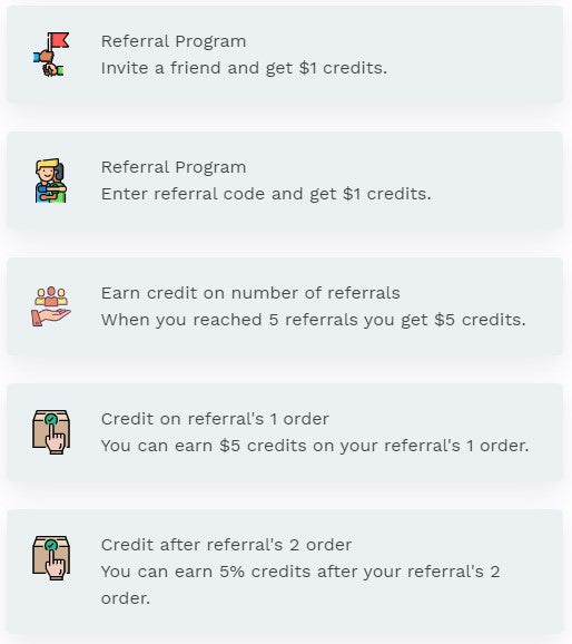 How to earn store credits
