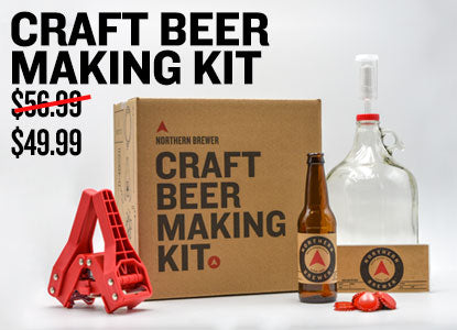 1 Gallon Craft Beer Making Kit Starting at $49.99