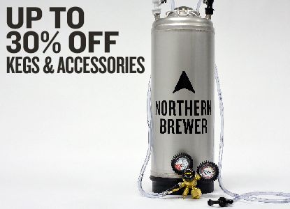 Up to 30% Off Kegging Equipment