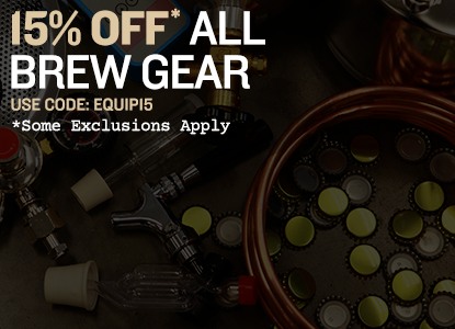 15% Off Equipment. Use Code: EQUIP15