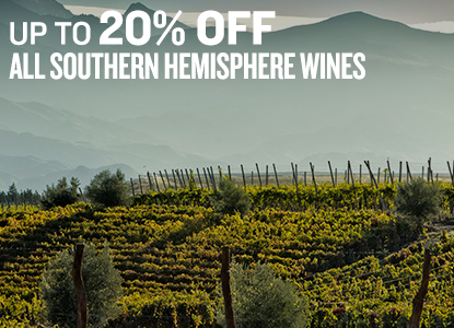 Up to 20% Off Southern Hemisphere Wines