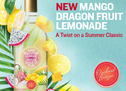 BACK IN STOCK: Mango Dragon Fruit Lemonade Wine Cooler