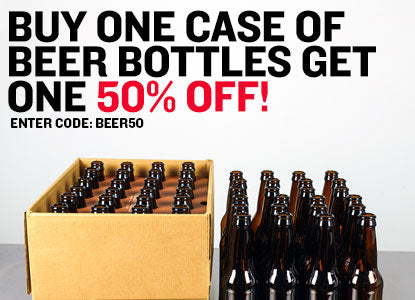 BOGO 50% Off Beer Bottles