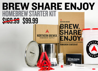 Brew Share Enjoy Starter Kit only $99.99