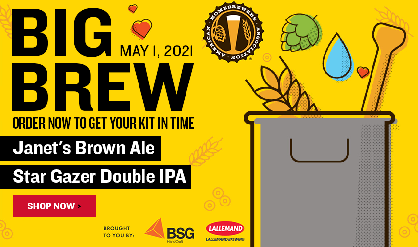 Join the 24th annual Big Brew on May 1, 2021