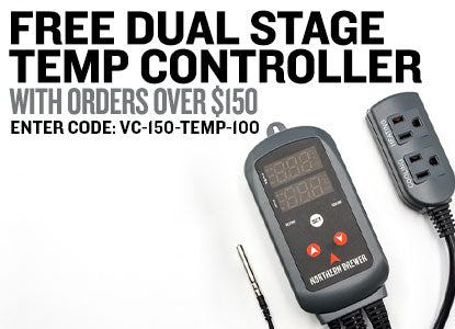 Free Dual-Stage Temp Controller with orders over $150