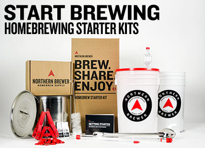 Start Brewing: Homebrewing Starter kits