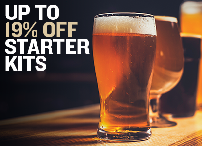 Up to 19% Off Starter kits for American Craft Beer Week