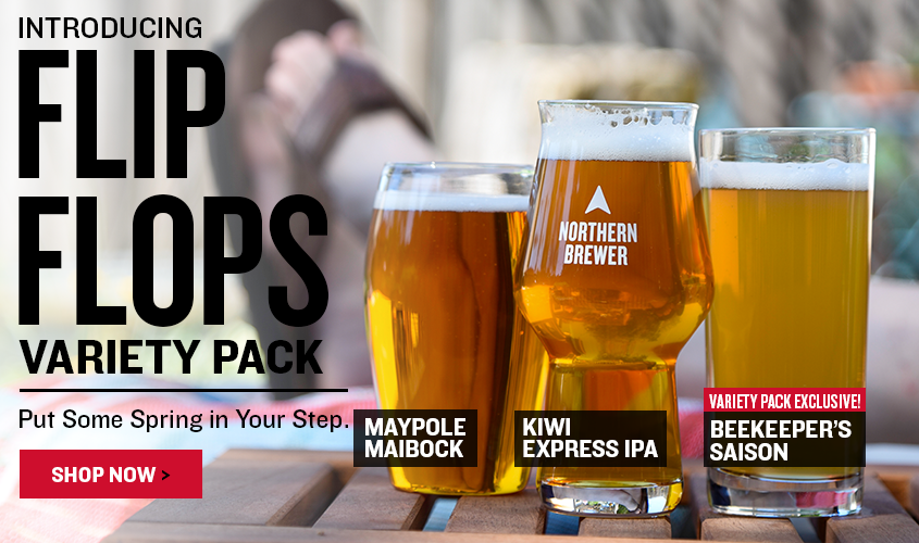 Introducing Flip Flops Variety Pack  The Beers That'll Put Spring in Your Step