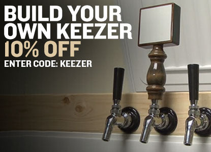10% Off Kegging and Keezers