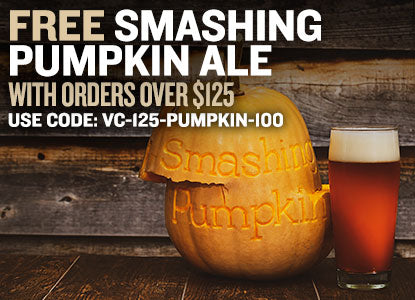 Free Smashing Pumpkin Ale With Orders Over $125