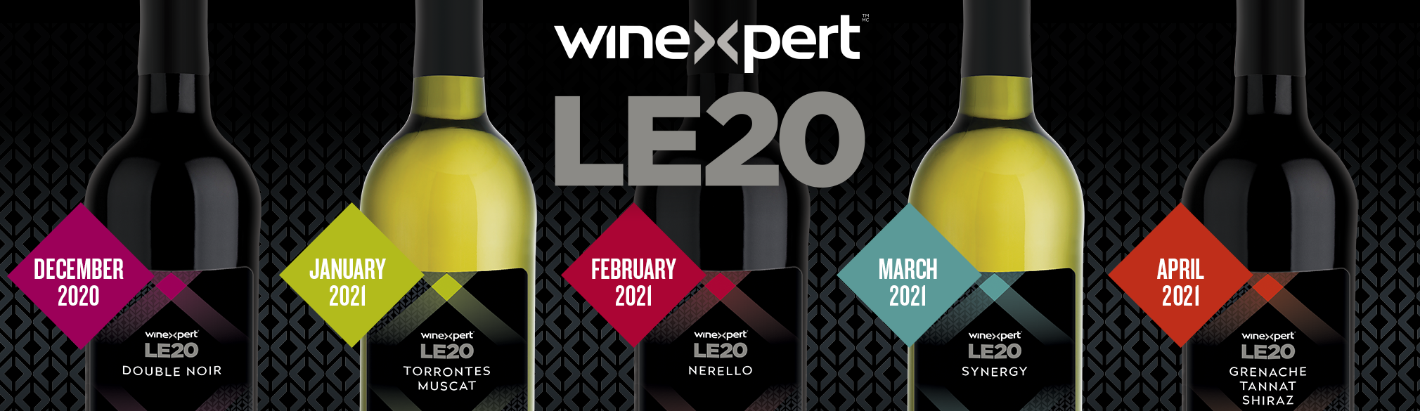 Winexpert LE20 Limited Release Wines now available for pre-order