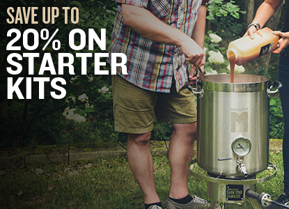 Save Up to 20% On Beer Starter Kits. Celebrate Learn to Homebrew Day