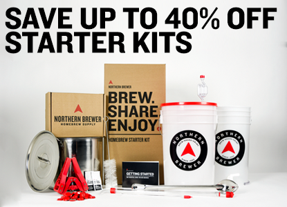 Up to 40% Off Beer and Wine Starter Kits