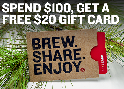 Free $20 Gift Card with Every Purchase Over $100