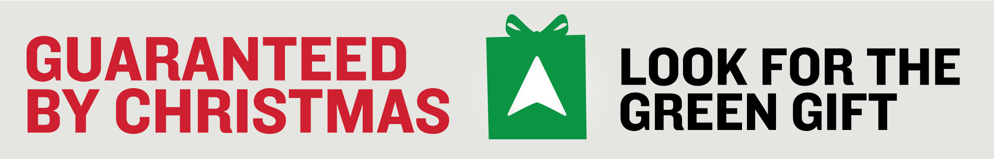 Extended Free Delivery by Christmas