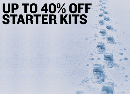 Up to 40% Off Starter Kits. No promo code required!
