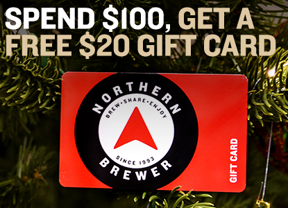 Spend $100 Get a FREE $20 Gift Card. Promo code: SANTA