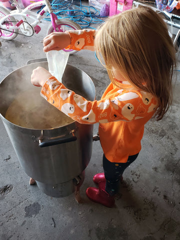 Father-Daughter Brew Day, Jamie
