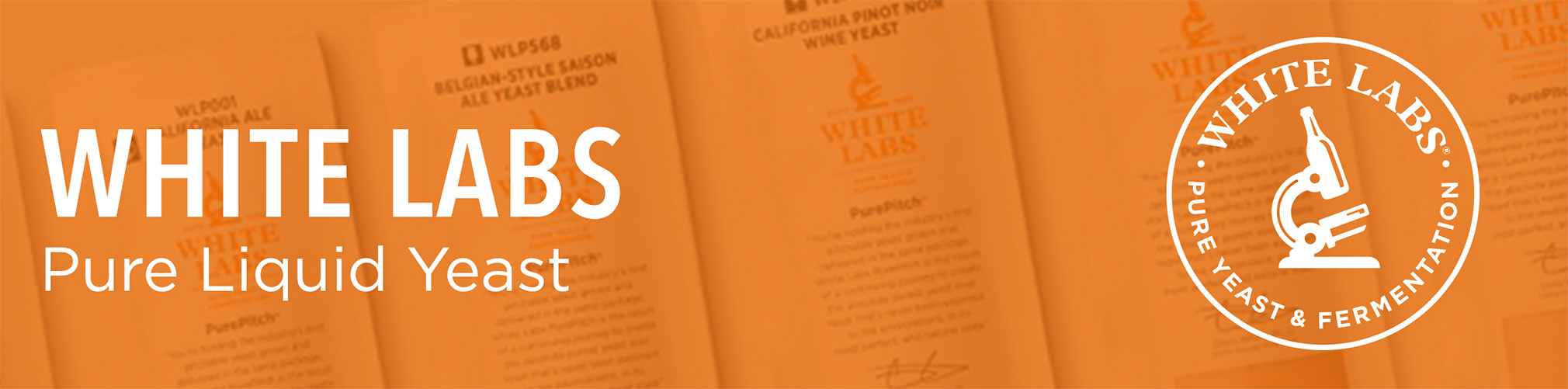 White Labs Liquid Yeast collection banner