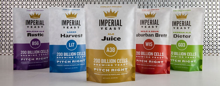 Imperial Yeast collection